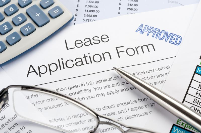 Lease Application Forms is For Rent – Lease Application
